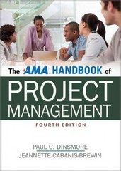 The AMA Handbook of Project Management 4th Edition 9780814433409 0814433405