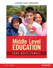 Introduction to Middle Level Education 3rd Edition 9780133752434 0133752437