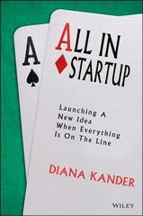 All In Startup 1st Edition 9781118857663 1118857666