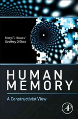 Human Memory 1st Edition 9780124081062 0124081061