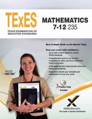 TExES TExES Mathematics 7-12 235 5th Edition 9781607873747 1607873745