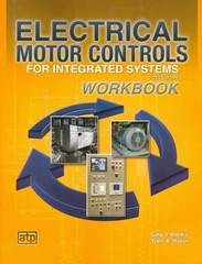 Electrical Motor Controls for Integrated Systems Workbook 5th Edition 9780826912275 0826912273