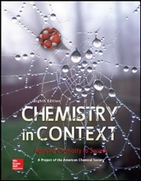 Chemistry in Context 8th Edition 9780073522975 007352297X
