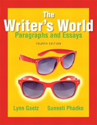 The Writer's World 4th Edition 9780321895127 0321895126