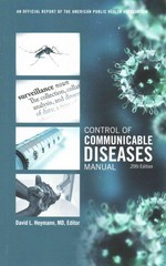 Control of Communicable Diseases Manual 20th Edition 9780875530185 0875530184