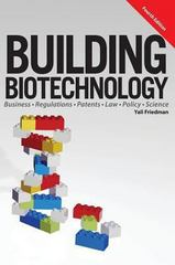 Building Biotechnology 4th Edition 9781934899281 1934899283