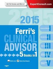 Ferri's Clinical Advisor 2015 1st Edition 9780323083751 0323083757
