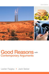 Good Reasons with Contemporary Arguments 6th Edition 9780321900210 0321900219