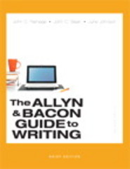 The Allyn & Bacon Guide to Writing, Brief Edition 7th Edition 9780321914422 0321914422