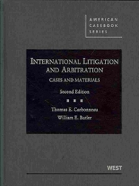 International Litigation and Arbitration 2nd Edition 9780314911520 0314911529