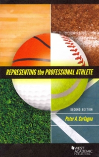 Representing the Professional Athlete 2nd Edition 9780314268167 0314268162