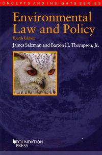 Environmental Law and Policy 4th Edition 9781609303051 1609303059