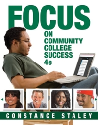 FOCUS on Community College Success 4th Edition 9781305537958 1305537955