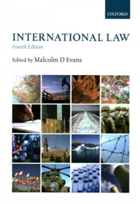 International Law 4th Edition 9780199654673 0199654670