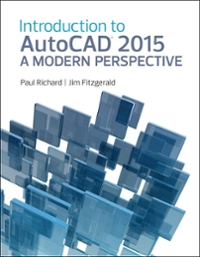 Introduction to AutoCAD 2015 1st Edition 9780133144833 0133144836