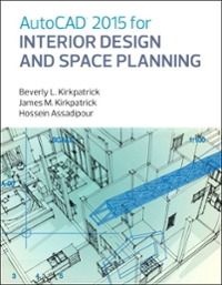 AutoCAD 2015 for Interior Design and Space Planning 1st Edition 9780133144857 0133144852