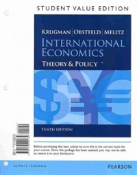 International Economics 10th Edition 9780133425734 0133425738