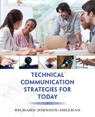 Technical Communication Strategies for Today 2nd Edition 9780321937254 0321937252