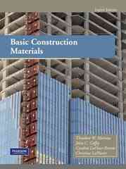 Basic Construction Materials 8th Edition 9780135129692 0135129699