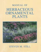 Manual of Herbaceous Ornamental Plants 4th edition 9780875634340 0875634346