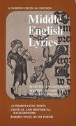 Middle English Lyrics 0 9780393093384 0393093387