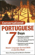 Conversational Portuguese in 7 DaysPackage (Book + 2CDs) 2nd edition 9780071432719 007143271X