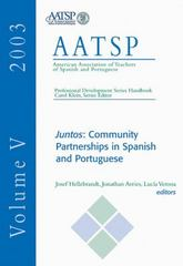 Juntos: Community Partnerships in Spanish and Portuguese 1st Edition 9780838460719 0838460712