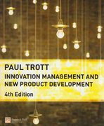 Innovation Management and New Product Development 4th edition 9780273713159 0273713159