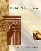 Criminal Law 7th edition 9780534563585 0534563589