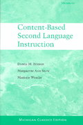 Content-Based Second Language Instruction 0 9780472089178 047208917X