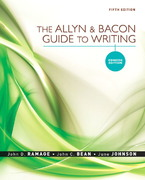 The Allyn & Bacon Guide to Writing: Concise Edition 5th Edition 9780205598724 0205598722