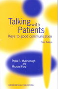 Talking with Patients 3rd edition 9780192625700 0192625705