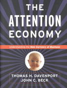 The Attention Economy 0 9781578514410 157851441X