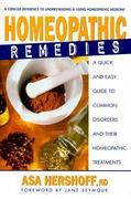 Homeopathic Remedies 1st edition 9780895299505 089529950X