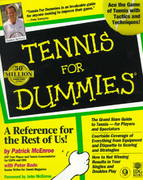 Tennis For Dummies 1st edition 9780764550874 076455087X