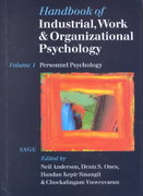 Handbook of Industrial, Work & Organizational Psychology 0 9780761964889 0761964886