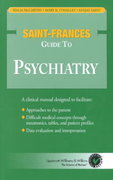 Saint-Frances Guide to Psychiatry 0 9780683306613 0683306618