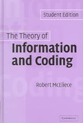The Theory of Information and Coding 2nd edition 9780521000956 0521000955