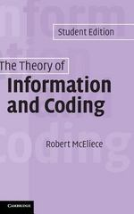 The Theory of Information and Coding 0 9780521831857 0521831857
