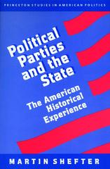 Political Parties and the State 0 9780691000442 0691000441