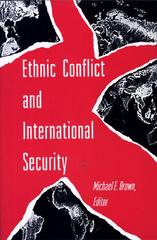 Ethnic Conflict and International Security 0 9780691000688 0691000689