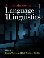 An Introduction to Language and Linguistics 2nd Edition 9781107637993 1107637996