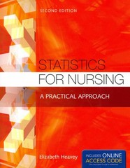 Statistics for Nursing 2nd Edition 9781284048346 1284048349