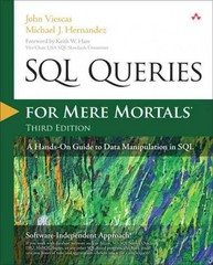 SQL Queries for Mere Mortals 3rd Edition 9780321992475 0321992474