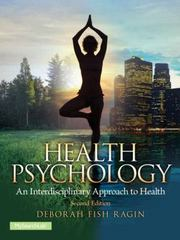 Health Psychology, 2nd Edition 2nd Edition 9781317350637 1317350634