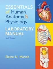 Essentials of Human Anatomy & Physiology Laboratory Manual 6th Edition 9780321947918 0321947916