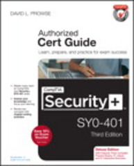 CompTIA Security+ SY0-401 Cert Guide, Deluxe Edition 3rd Edition 9780789753335 0789753332
