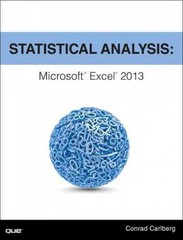 Statistical Analysis 1st Edition 9780789753113 0789753111