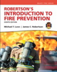 Robertson's Introduction to Fire Prevention 8th Edition 9780133843842 013384384X