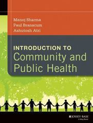 Introduction to Community and Public Health 1st Edition 9781118410554 1118410556